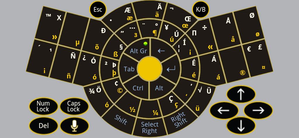 Figure-10 Android Keyboard App Alt-Gr - US International Efficient keyboard layout