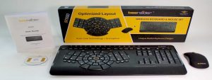 Optimized Wireless Keyboard